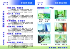 玻璃膜宣传单图片