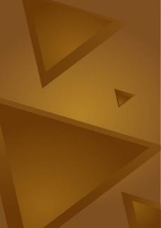 棕色三角形背景图片