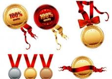 奖牌奖章图片