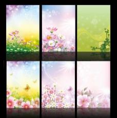 花纹背景 春天图片