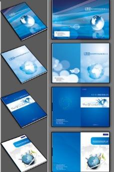 科技画册封面图片简约风格 底纹
