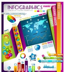 统计图表 形象图表图片