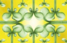 植物牙条设计素材图片