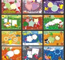 2010儿童相册台历cdr矢量图片