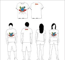 2B铅笔T恤图片