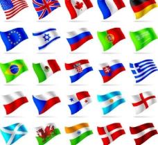 世界各国国旗图片