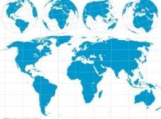 世界板块与地球图片