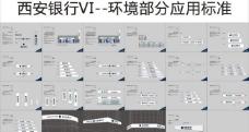 西安银行门头排版标准图片