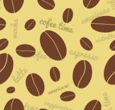 咖啡豆背景图片