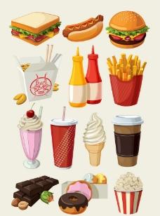 西式快餐图片