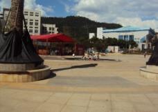 郴州苏仙福地广场图片