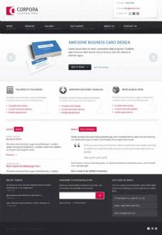 国外咨询管理公司html模板