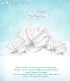折纸玫瑰花 剪纸花纹图片
