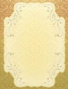 典雅的复古背景矢量插画