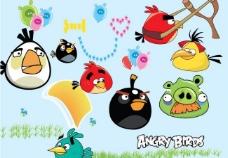 愤怒的小鸟位图组成图片