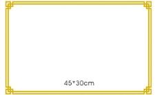 边框图片展板装饰