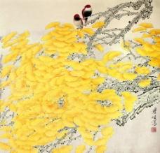金秋银杏图片