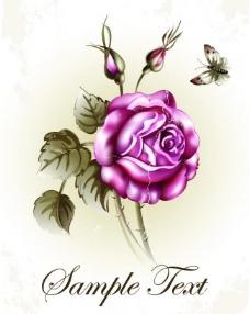 手绘花卉花朵背景图片