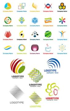图形logo模板矢量素材