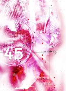 紫色光芒数码游戏背景设计psd分层素材