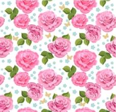 无缝花卉图片