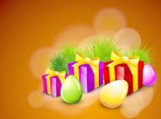 复活节快乐背景