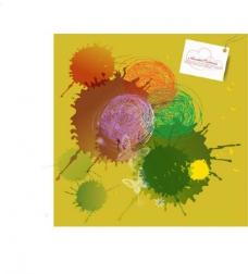 彩色线团涂鸦矢量素材图片
