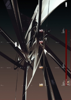 金属结构数码游戏背景设计psd分层素材