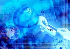 磁卡意识数码游戏背景设计psd分层素材