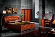 实木床免费   实木床