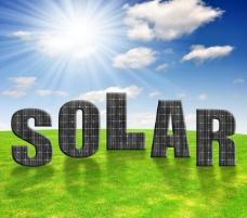 太阳能电池板英文字母图片