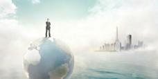 未来世界创意视觉PSD 下载
