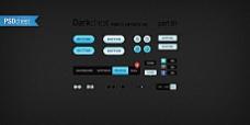 精美网页设计元素psd素材-darkchest part 01