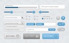 精美网页设计元素psd素材-web ui elements