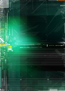 网络科学应用互联网科技背景设计psd