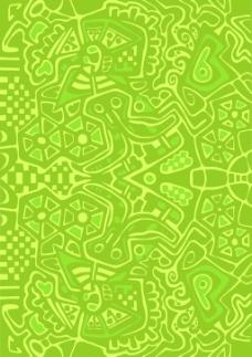 迷幻的马赛克图案的抽象设计