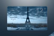 天气UI界面