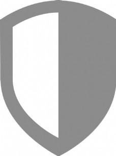盾1字形图标
