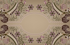 欧式花纹图片