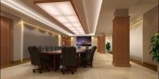 会议室3dmax室内图片