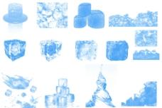 冰块素材图片