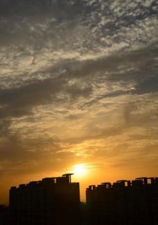 日落风情图片