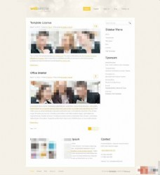 商务合作HTML模板