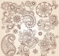 欧式古典花纹图片