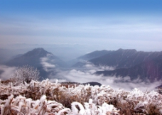 梵净山远景图片