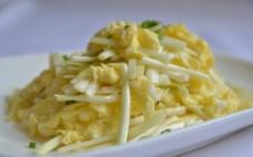 韭黄炒鸡蛋图片