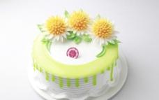 花卉蛋糕图片