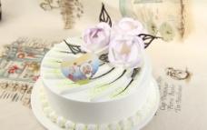 花卉蛋糕山茶花图片