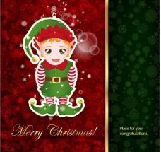 可爱的圣诞贺卡图片