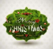 圣诞对话泡泡图片
